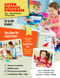 3 690 Customizable Design Templates For After School Program