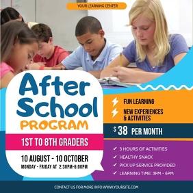 After School Program Instagram Video