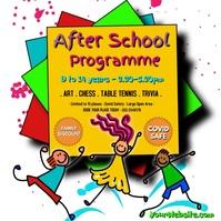 After School Programme Сообщение Instagram template