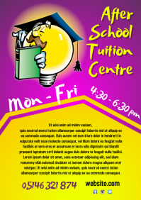 After School Tuition Centre Flyer