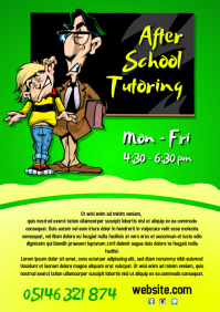 After School Tutoring Flyer
