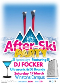 After Ski Party Poster