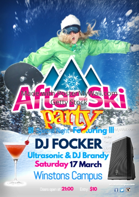 After-ski Poster