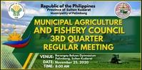 Agriculture And Fishery Spanduk Gulir Atas 3' × 6' template
