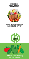 Agriculture Roll Up Banner 3' × 6' template