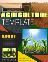 AGRICULTURE FLYER POSTER TEMPLATE