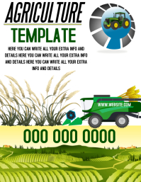 AGRICULTURE FLYER TEMPLATE
