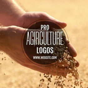 AGRICULTURE LOGO TEMPLATE Instagram Post