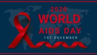 Aids day,world aids day,event Encabezado de blog template