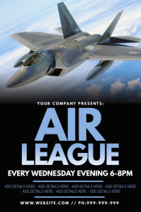 Air League Poster