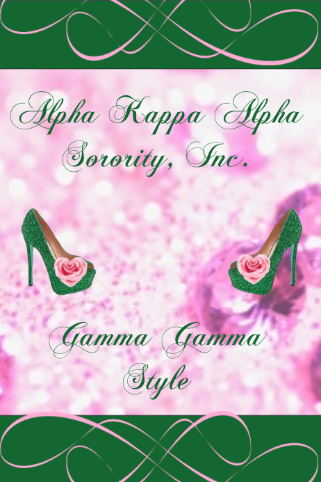 Customizable design templates for alpha kappa alpha sorority aka flyer alpha kappa alpha flyer colourmoves
