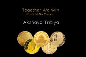 Akshaya Tritiya World Poster Template Плакат