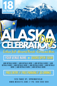 Alaska Day Poster