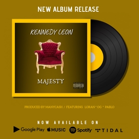 ALBUM ART COVER LAUNCH ANNOUNCEMENT NOW AVAIL