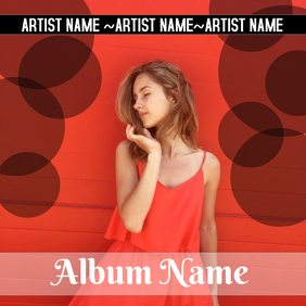 ALBUM ART template