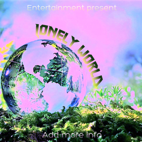 "Album Cover ""Lonely World"""