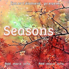"Album Cover ""Seasons"""