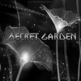 "Album Cover ""Secret Garden"""