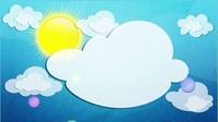 Album cover & Sun and clouds! Miniatura de YouTube template