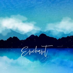 ALBUM COVER | ENCHANT Post Instagram template