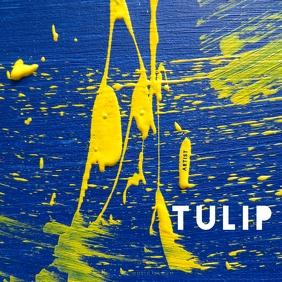 ALBUM COVER | TULIP Сообщение Instagram template