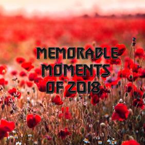 "Album Cover ""Memorable moments"" template"