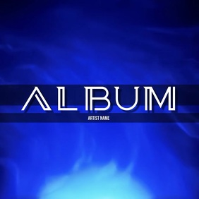 album cover 2020 template Pochette d'album