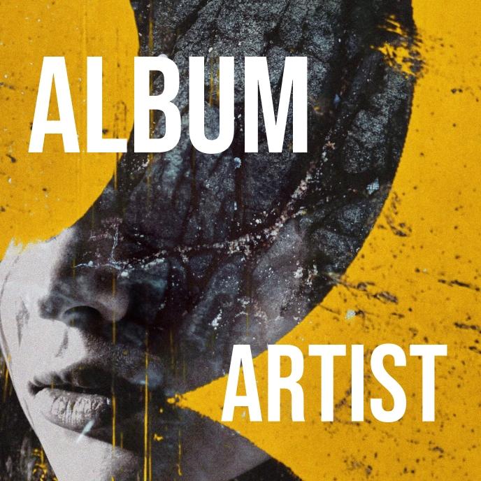 Album cover art bold noticeable and unique