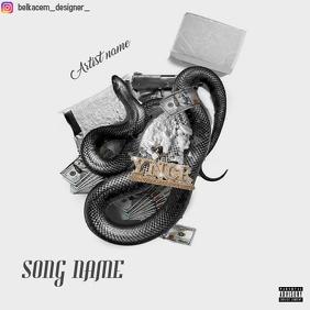Album cover by belkacem designer template