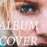 Album cover Обложка альбома template
