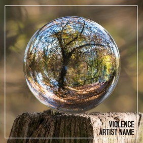album cover Pochette d'album template