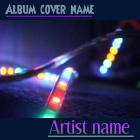 Album cover Portada de Álbum template