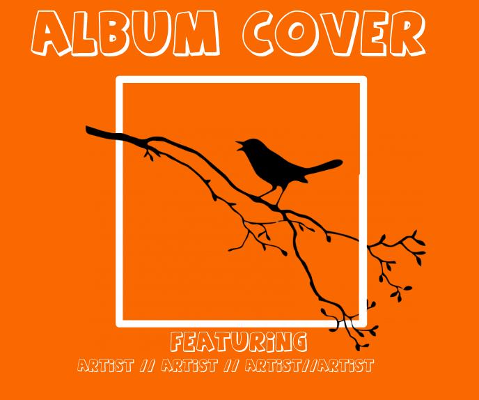 album cover Malaking Rektangle template