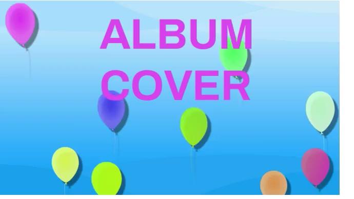 Album cover Foto de Portada de Canal de YouTube template