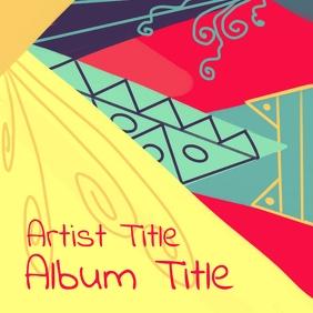 Album cover design 专辑封面 template