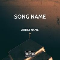 Album Cover Okładka albumu template
