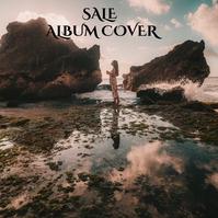 Album cover Albumhoes template
