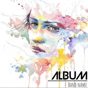 Album cover flyer template Okładka albumu