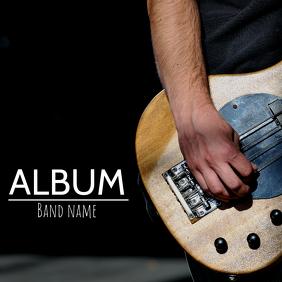 Album cover flyer template Albumcover