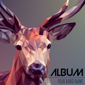 Album cover flyer template 专辑封面