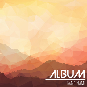 Album cover flyer template