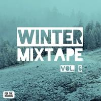 Album Cover Instagram Ad Template Winter Mix