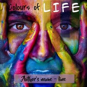 album cover/ novel cover page