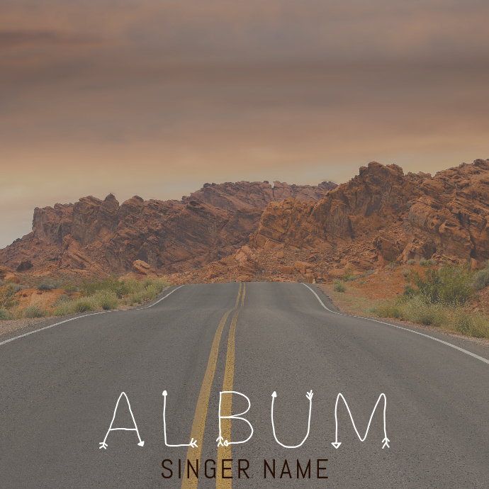 Album Cover Template