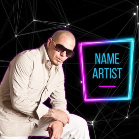 ALBUM COVER SOCIAL MEDIA TEMPLATE Logo