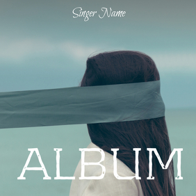 Album cover template soul music