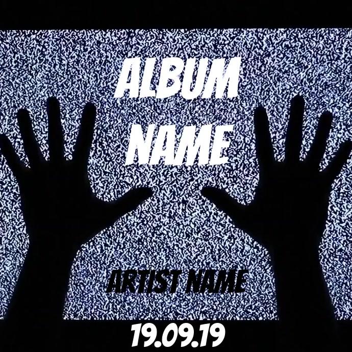 Album Cover Video Art