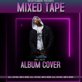 ALBUM COVER video TEMPLATE social media
