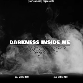 "Album or Book Cover ""Darkness inside me"""
