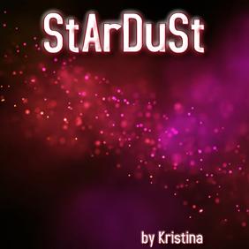 """Album or Book cover """"Stardust"""""""
